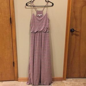 Lauren Conrad maxi dress size S